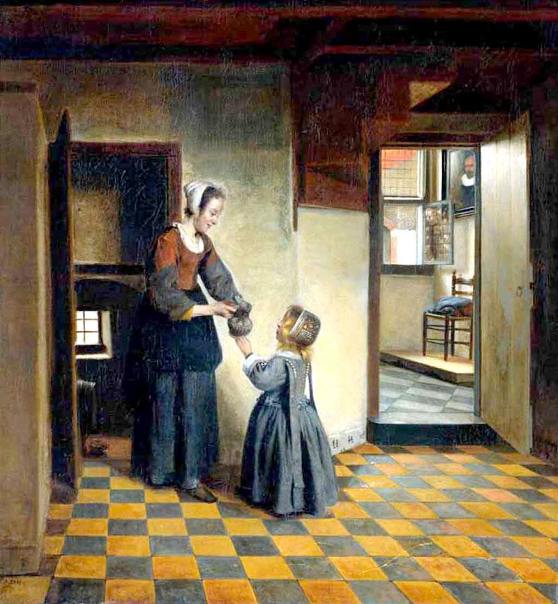 Pintura. Pieter de Hooch