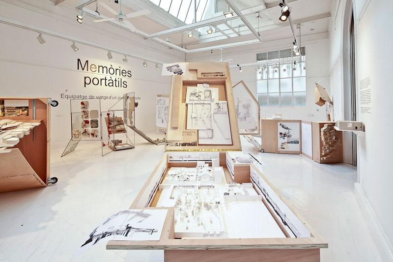 Expo Memòries portàtils. 2013. Sala Vinçon. Foto: Àlex Garcia