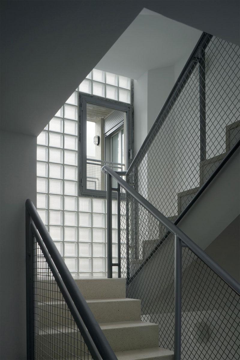 Interior escales. Foto: Duccio Malagamba